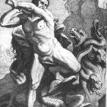 Hercule combatant l'hydre de Lerne