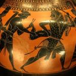 Hercule ramenant la biche de Cérynie