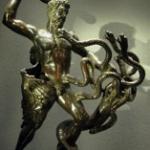 Statue d'Hercule tuant l'hydre de Lerne