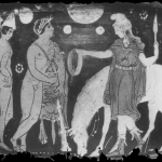 Hercule reçevant la ceinture d'Hippolyte