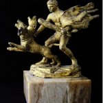 Hercule et le chien Cerbère
