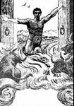 Hercule entrant dans les écuries d'Augias