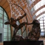 Statue d'Hercule chassant les oiseaux du lac de Stymphale